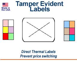 Tamper-Evident Labels