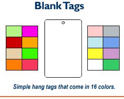 Blank Tags