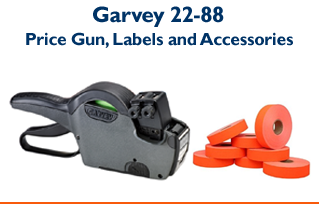 Garvey 22-88 - Two Line Price Gun & Labels