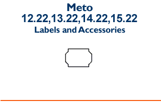Meto 12.22 / 13.22 / 14.22 / 15.22 - Labels