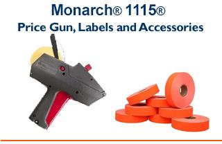 Monarch® 1115® - 2 Line Price Gun & Compatible Labels*