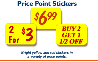 Price Point Stickers