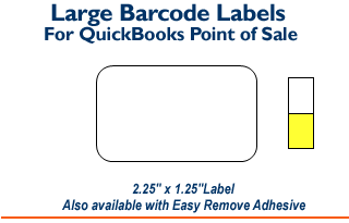 Large Barcode Labels