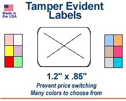 Tamper-Evident Price Labels