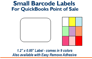 Small Barcode Labels