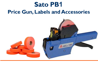 PB1-6 - One Line Price Gun &  Compatible Labels