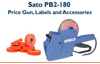 PB2-180 - Two Line Price Gun & Labels