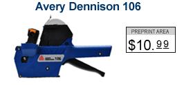 Avery Dennison 106 Price Marking Gun