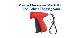 Avery Dennison Mark III Fine Fabric Tagging Gun