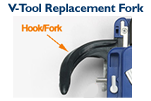 V-Tool Replacement Fork