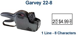 Garvey 22-8 Price Marking Gun