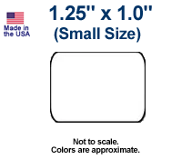1.25 x 1.0 Labels (Small)