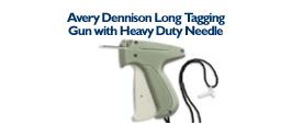 Avery Dennison Long Tagging Gun - with Long Heavy Duty Needle