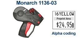 Monarch ®1136-03® Price Marking Gun