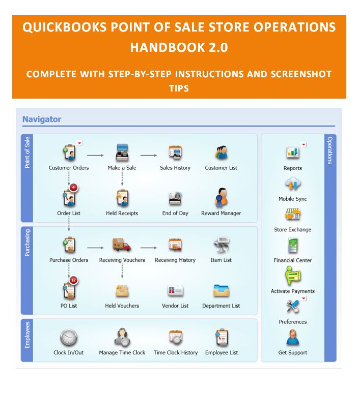 QuickBooks POS Store Operations Handbook