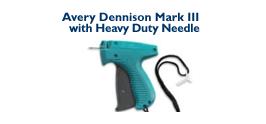 Avery Dennison Mark III - with short Heavy Duty Needle