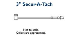 Secur-A-Tach Fasteners - 3 inch