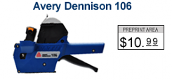 Avery Dennison 106 Price Marking Gun