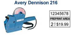 Avery Dennison 216 Price Marking Gun
