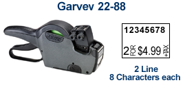 Garvey 22-88 Price Marking Gun