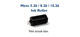 Meto Ink Roller for 5.26 / 8.26 / 10.26