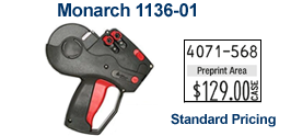 Monarch 1136-01 Price Marking Gun