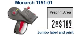 Monarch 1151-01 Price Marking Gun