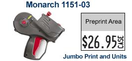 Monarch 1151-03 Price Marking Gun