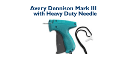 Avery Dennison Mark III - with short Heavy Duty Needle