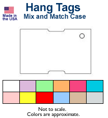Zebra Hang Tags - Mix and Match Case
