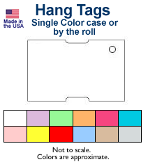 Zebra Hang Tags
